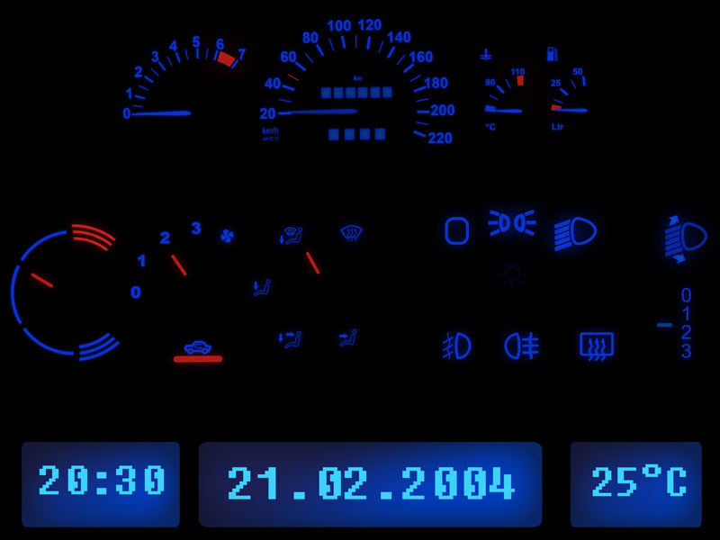 BEPHOS® RGBW LED Innenraumbeleuchtung Opel Astra K APP Steuerung